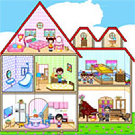 doll house games with family family dollhouse 2 decorating games at toongames