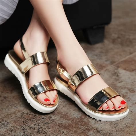 fashion flat shoes for new summer neon shoes fashion flat sandals