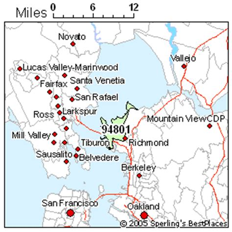 zip code map richmond ca best place to live in richmond zip 94801 california