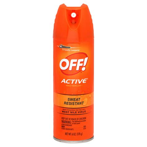 off backyard spray reviews off active insect repellent i sweat resistant 6 oz 170 g