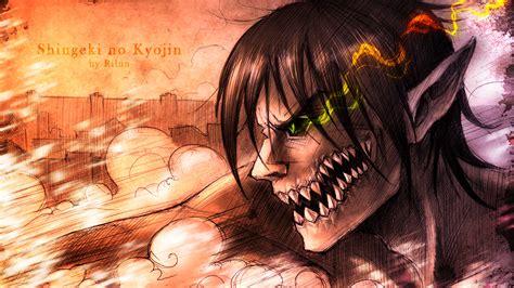 Eren Titan At Attack On Titan attack on titan eren wallpaper 1080p www pixshark
