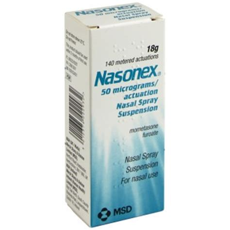 Mometasone Furoate Also Search For Buy Nasonex Nasal Spray Hay Fever Nasal Spray