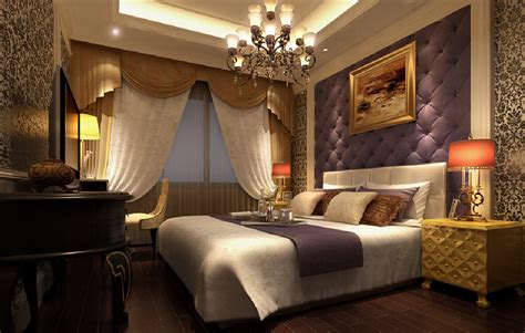 interior design soft purple wall bedroom europe