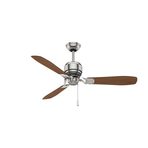 casablanca home ceiling fan casablanca tribeca 52 in indoor brushed nickel ceiling