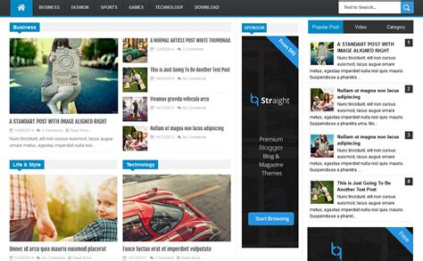 free xml themes download blogger linezap high ctr magazine blogger template high ctr