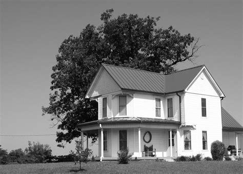 black and white home farm house black and white by uncledave on deviantart