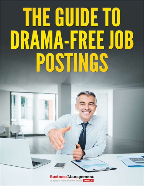 the guide to drama free job postings free tips and tricks