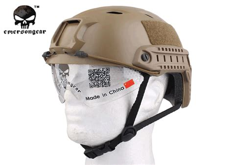 Helm Tactical Emerson Gear Fast Helmet Mh Type Airsoft Em8812 emerson fast helmets with built in goggles popular airsoft