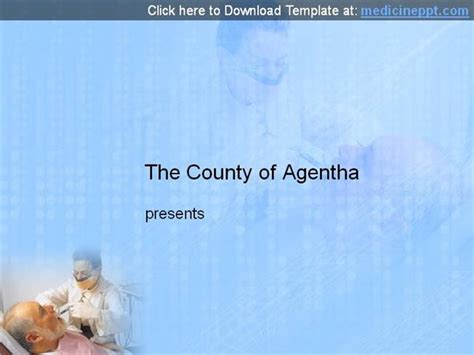 templates powerpoint dentistry free dentist powerpoint template authorstream