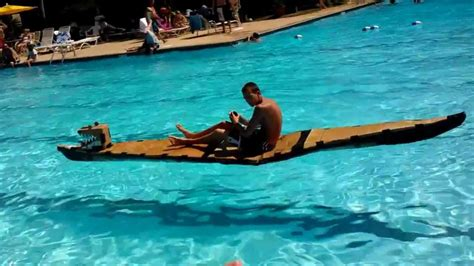 cardboard boat paddles ethan on cardboard paddleboard at wellington 2012