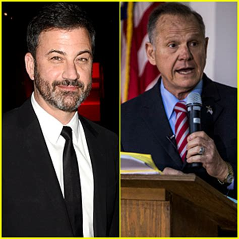roy moore jimmy kimmel twitter jimmy kimmel roy moore trade barbs on twitter see the