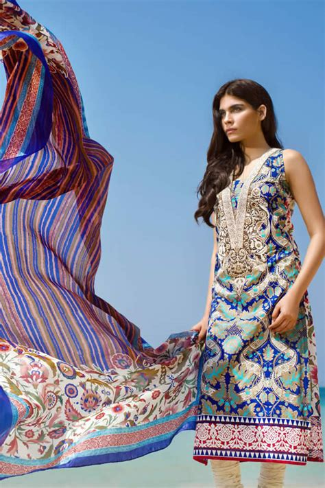 Sana Safinaz 2015 Spring/ Summer Lawn Collection : Trends