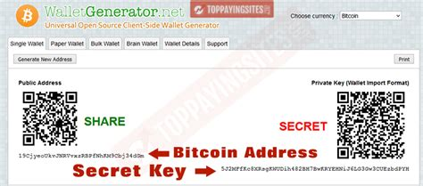 paper wallet bitcoin top paying sites
