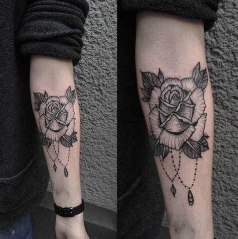 simple tattoo linework 40 blackwork rose tattoos you ll instantly love tattooblend