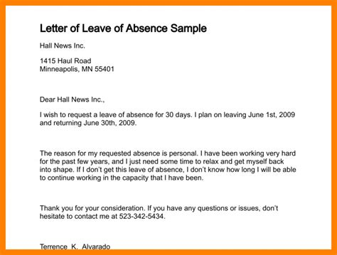 Apology Letter To For Absence Due To Illness exle of excuse letter for being absent in school due to