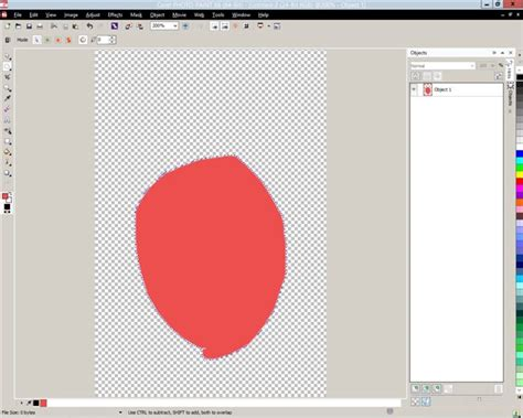 pattern fill corel draw x7 getting no fill to selection using ctrl backspace