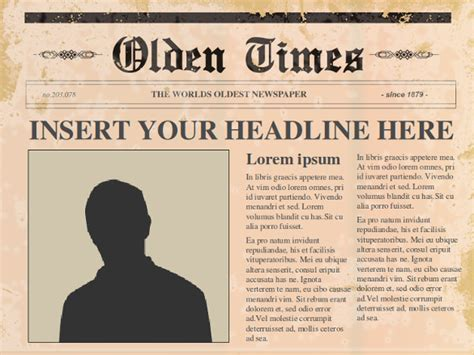 Powerpoint Newspaper Template 21 Free Ppt Pptx Potx Documents Download Free Premium Free Newspaper Template Docs