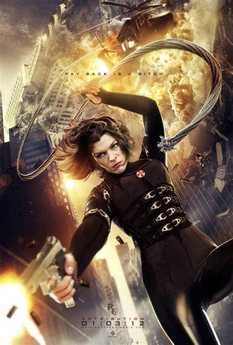 resident evil resident evil retribution 2012 milla jovovich movie