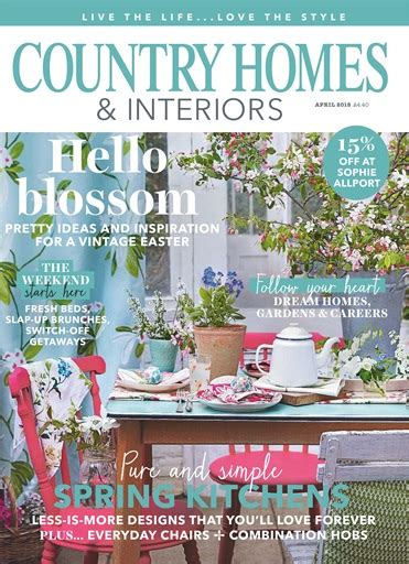 country homes and interiors magazine 2018 country homes interiors magazine april 2018 subscriptions pocketmags