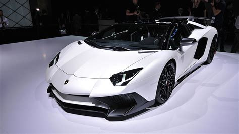 2016 lamborghini aventador sv roadster top speed