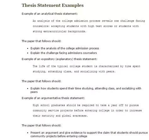 Why Should I Do A Thesis by How Should A Thesis Statement Be Quora