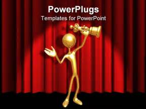 award powerpoint template powerpoint template gold 3d figure holding gold award