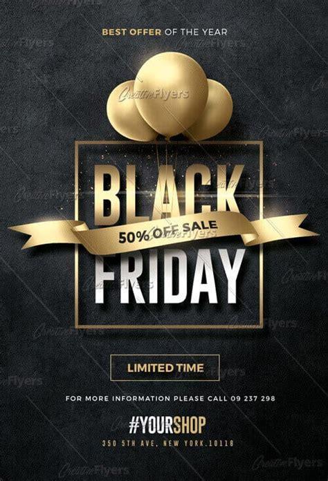 Black Friday Flyer Download Psd Templates Creativeflyers Black Flyer Template