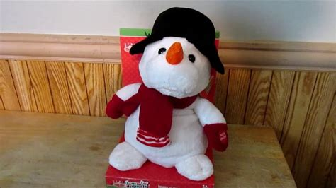 merry brite jammin animals animated christmas bear snowman sings frosty youtube