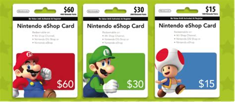 Eshop Gift Cards Net - save 15 on nintendo eshop gift cards at eb games