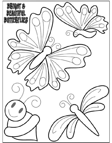 beautiful coloring pages of butterflies bright and beautiful butterflies 1 coloring page crayola com