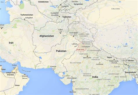 India Pakistan Map by India Installs Laser Walls At Border With Pakistan Nbc