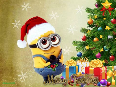 minions christmas wallpapers wallpaper cave