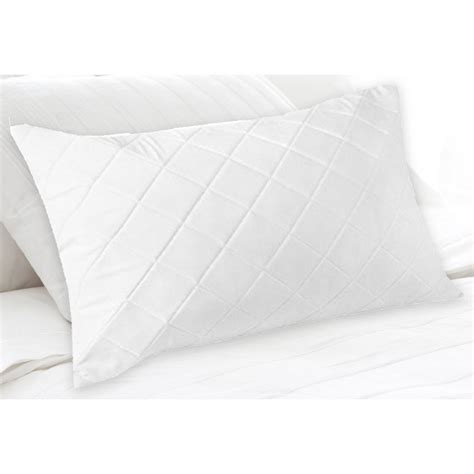Quilted Pillow Protectors by King Size Fibre And Cotton Quilted Pillow Protector Buy