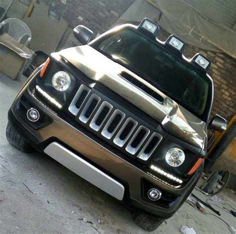 modded jeep renegade this modded toyota fortuner appears like an aggressive