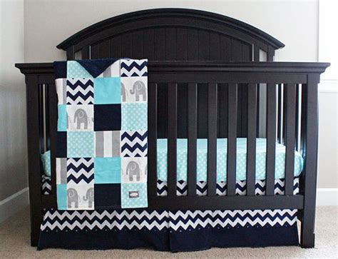 crib bedding set for boy aqua navy and grey baby bedding elephant crib bedding bedding sets awesome and