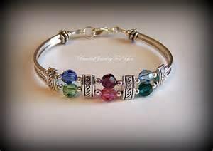 Custom Birthstone Bracelets Personalized Birthstone Bracelet Custom Jewelry Gifts For