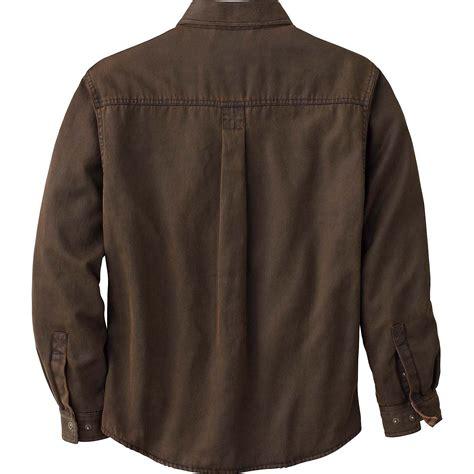 Mens Rugged Clothing by Legendary Whitetails S Journeyman Rugged Shirt Jacket