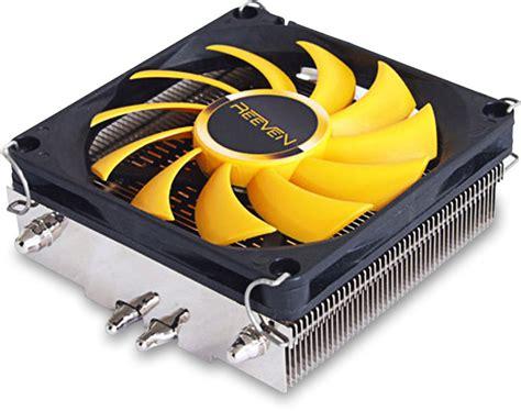 low profile 80mm fan vanxie rc 0801 low profile cpu cooler