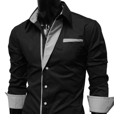 Longch Ruban Size M With Defect s casual slim fit dress shirt black size m with minor defect 14 no returns