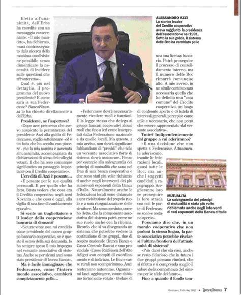 Banca Finanza by Su Banca Finanza L Intervista Al Neo Presidente Di