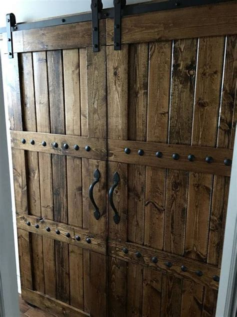 sliding barn style interior doors best 25 wooden doors ideas on wooden door