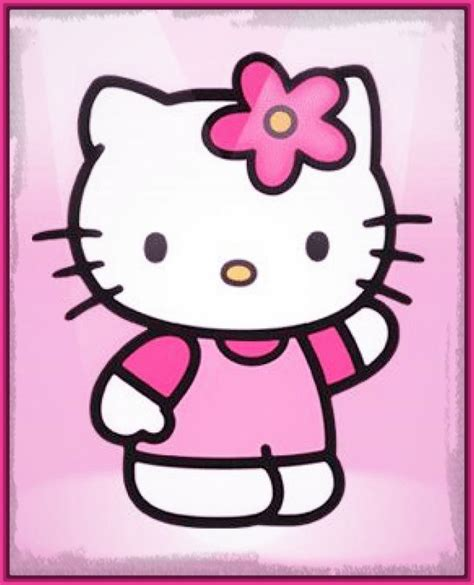 imagenes de hello kitty originales dibujos de hello kitty con color muy originales imagenes