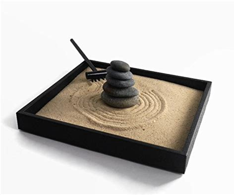 Garden Desk Accessories Stacking Stones Zen Garden Desktop Gift Ideas For Office