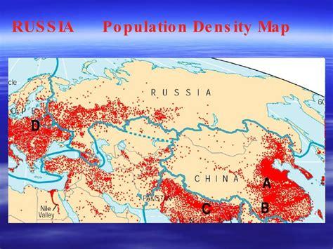 russia population density map united kingdom vs russia