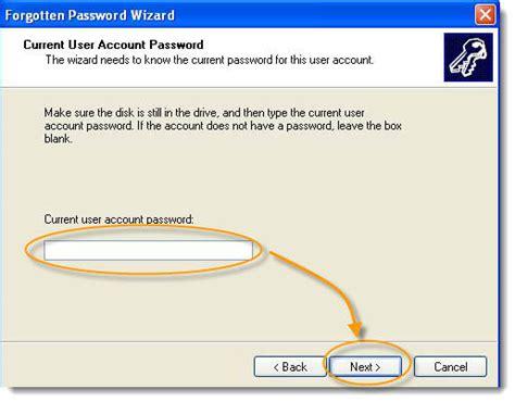 password reset disc xp no psw userkey in windows 10