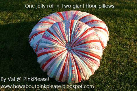 jelly roll floor pillows 171 moda bake shop