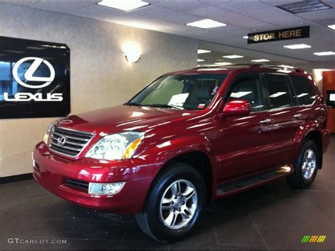 red lexus 2008 2008 salsa red pearl lexus gx 470 59169227 photo 3