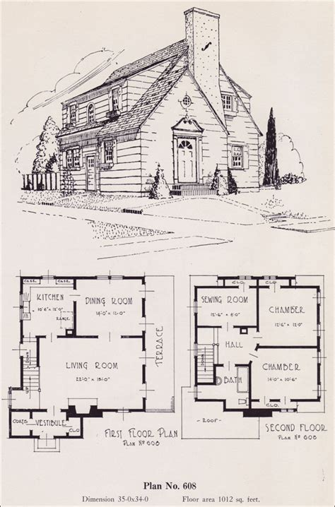 home layout service modernize colonial 1926 universal plan service no 608