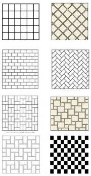 Tile Layout Designs Tile Floor Patterns To Spark Your Bathroom Tile Design Ideas