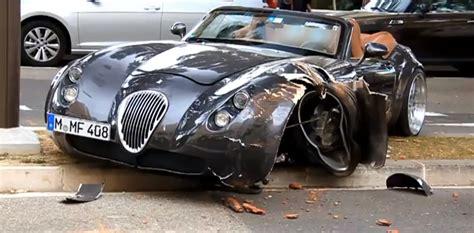 Crash: Wiesmann MF4 in Monaco autoevolution